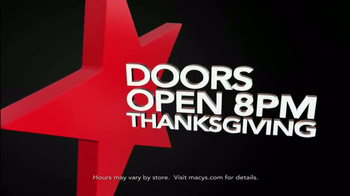 Macy's Black Friday Sale TV Spot, 'Door Busters' - Thumbnail 2