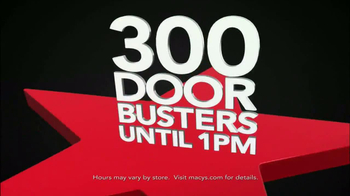 Macy's Black Friday Sale TV Spot, 'Door Busters' - Thumbnail 3