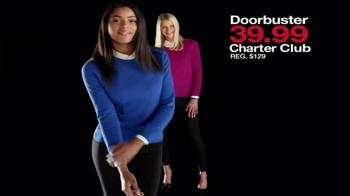 Macy's Black Friday Sale TV Spot, 'Door Busters' - Thumbnail 4