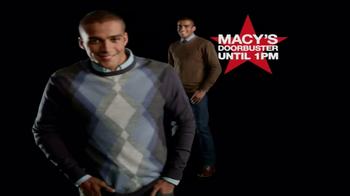 Macy's Black Friday Sale TV Spot, 'Door Busters' - Thumbnail 5