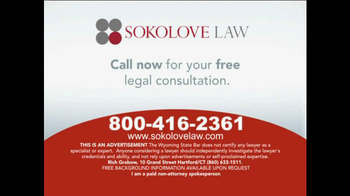 Sokolove Law TV Spot, 'Type 2 Diabetes, Cholesterol Medication' - Thumbnail 10