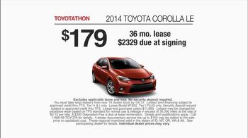 Toyota Toyotathon TV Spot, 'Today's the Day' - Thumbnail 9