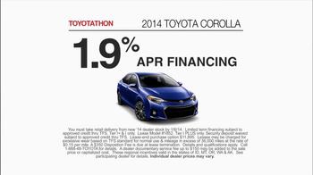 Toyota Toyotathon TV Spot, 'Today's the Day' - Thumbnail 7