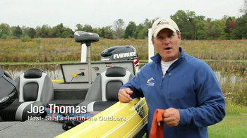 Outdoor Channel TV Spot, 'Life Jacket' Featuring Joe Thomas - Thumbnail 1