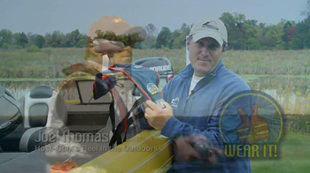 Outdoor Channel TV Spot, 'Life Jacket' Featuring Joe Thomas - Thumbnail 2