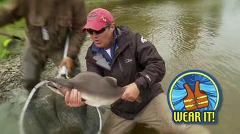 Outdoor Channel TV Spot, 'Life Jacket' Featuring Joe Thomas - Thumbnail 4