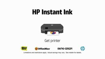 HP Instant Ink TV Spot, 'Like Father, Like Son' - Thumbnail 10