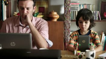 HP Instant Ink TV Spot, 'Like Father, Like Son' - Thumbnail 3