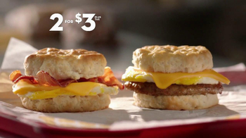 Jack in the Box Breakfast Biscuits TV Spot, 'Bad Decisions' - Thumbnail 7