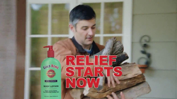 Gold Bond Body Lotion TV Spot, 'Firewood' - Thumbnail 9