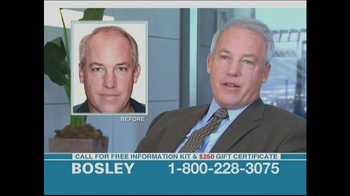 Bosley TV Spot, '$250 Savings'