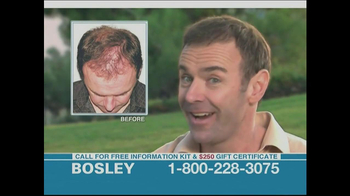 Bosley TV Spot, '$250 Savings' - Thumbnail 6
