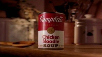 Campbell\'s Chicken Noodle Soup TV Spot, \'Snowman\'