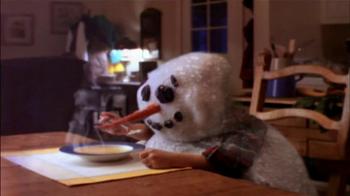Campbell's Chicken Noodle Soup TV Spot, 'Snowman' - Thumbnail 9