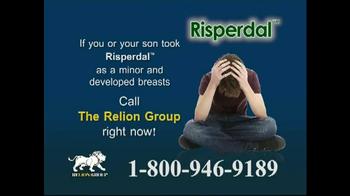 Relion Group TV Spot, 'Risperdal-Gynecomastia'