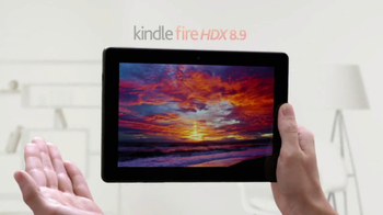 Amazon Kindle Fire HDX 8.9 TV Spot, 'Compared with iPad Air'
