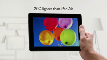 Amazon Kindle Fire HDX 8.9 TV Spot, 'Compared with iPad Air' - Thumbnail 7