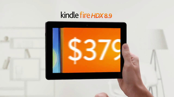 Amazon Kindle Fire HDX 8.9 TV Spot, 'Compared with iPad Air' - Thumbnail 9