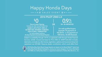 Honda Happy Honda Days TV Spot, 'Skis' Featuring Michael Bolton - Thumbnail 10