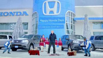 Honda Happy Honda Days TV Spot, 'Skis' Featuring Michael Bolton - Thumbnail 5