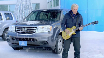 Honda Happy Honda Days TV Spot, 'Skis' Featuring Michael Bolton