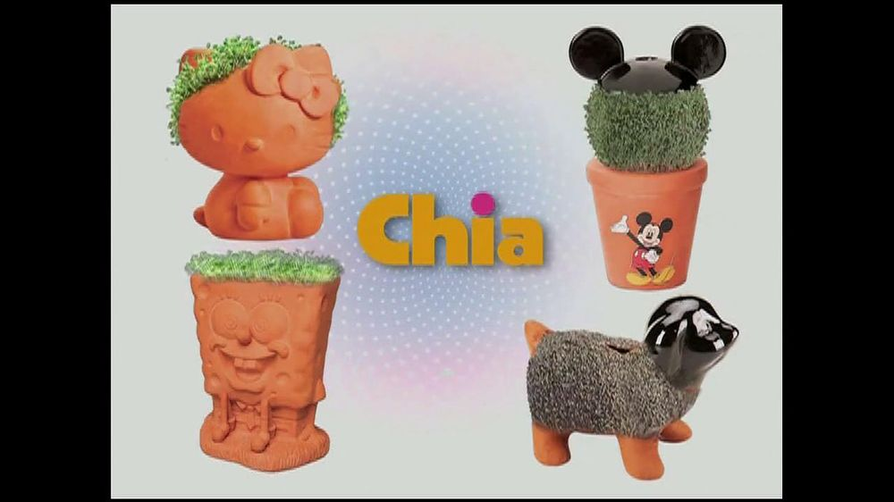 Chia Pet Tv Commercial Watch It Grow Ispottv