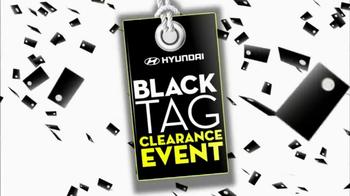 Hyundai Black Tag Clearance Event TV Spot, 'Final 4 Days' - Thumbnail 2