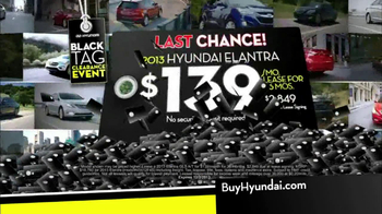 Hyundai Black Tag Clearance Event TV Spot, 'Final 4 Days' - Thumbnail 5