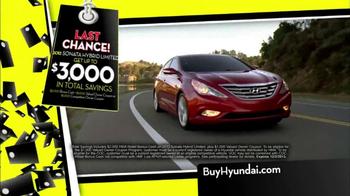 Hyundai Black Tag Clearance Event TV Spot, 'Final 4 Days' - Thumbnail 7