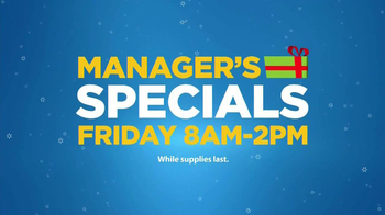 Walmart Manager's Specials TV Spot - 71 commercial airings