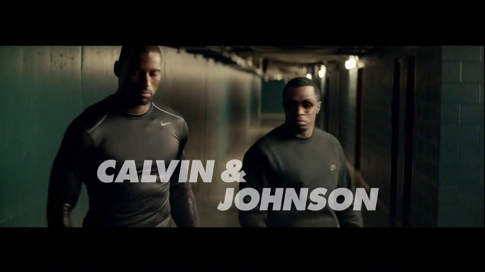 Nike TV Commercial, 'Thanksgiving' Featuring Calvin Johnson, Sean Combs