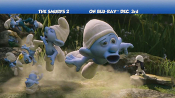 Smurfs 2 Blu-ray and DVD TV Spot