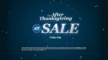 ADT After Thanksgiving Sale TV Spot - 97 commercial airings