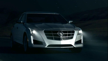 2014 Cadillac CTS Sedan TV Spot, 'Moon' Song by Ulrich Schnauss - Thumbnail 7