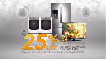 h.h. gregg Countdown to Christmas Sale TV Spot