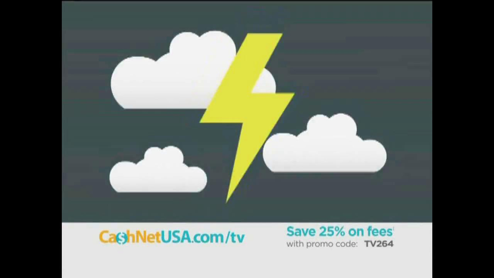 Western Sky Loans >> Cash Net USA TV Commercial, 'We've Got You Covered' - iSpot.tv
