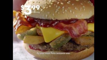 Jack in the Box Jalapeño BBQ Burger TV Spot, 'Meritoria' [Spanish] - Thumbnail 4