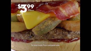 Jack in the Box Jalapeño BBQ Burger TV Spot, 'Meritoria' [Spanish] - Thumbnail 5