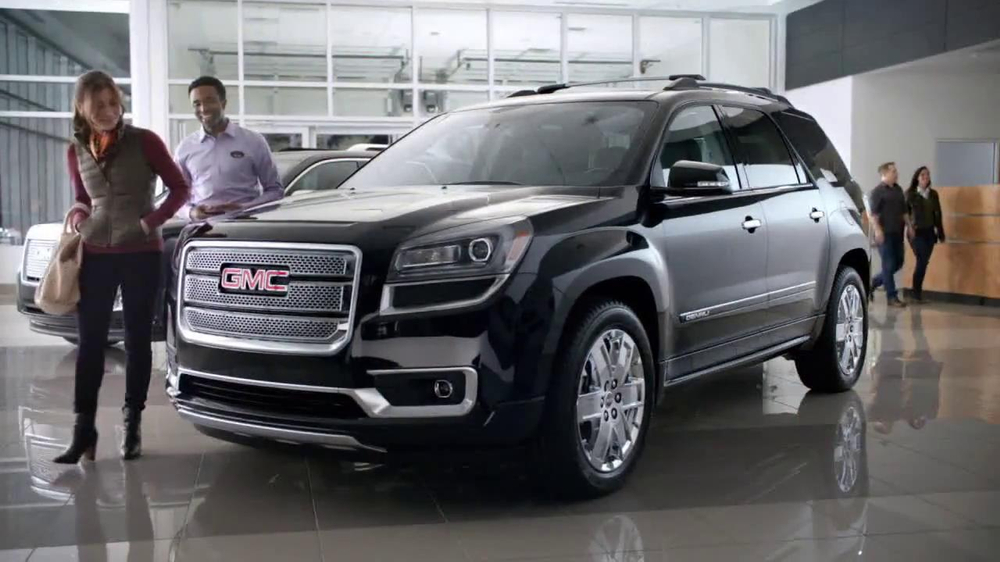 2014 gmc acadia tv commercial 39 selldown 39. Black Bedroom Furniture Sets. Home Design Ideas
