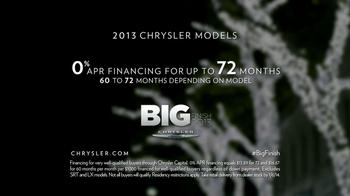 Chrysler Big Finish Event TV Spot, 'Giving Back' - Thumbnail 10