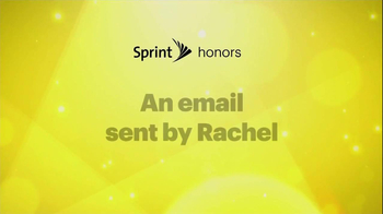Sprint TV Spot, 'Email From Rachel' Featuring Malcolm McDowell - Thumbnail 1