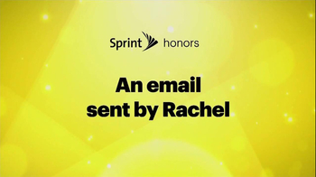 Sprint TV Spot, 'Email From Rachel' Featuring Malcolm McDowell - Thumbnail 2