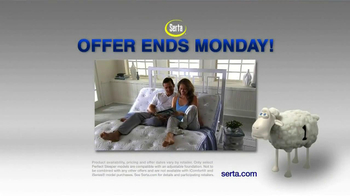 Serta TV Spot, 'Biggest Sale of the Year' - Thumbnail 10