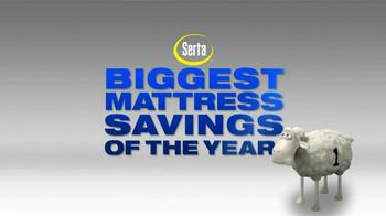 Serta TV Spot, 'Biggest Sale of the Year' - Thumbnail 2
