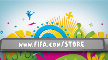 FIFA World Cup Brazil Merchandise TV Spot