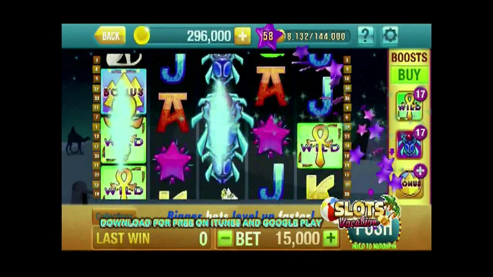 Slots Vacation Game