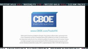 CBOE Volatility Index VIX TV Spot - Thumbnail 9