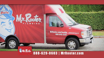 Mr. Rooter Plumbing TV Spot, 'No Extra Charge On Holidays'