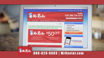 Mr. Rooter Plumbing TV Spot 'I Can Fix This' - Thumbnail 7