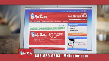 Mr. Rooter Plumbing TV Spot 'I Can Fix This' - Thumbnail 6